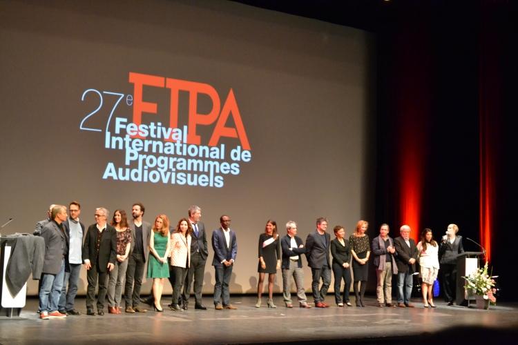 La cérémonie d'ouverture de la 27ème édition du FIPA à Biarritz