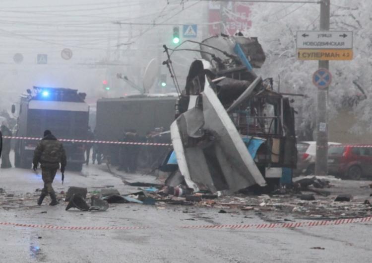 Le chaos à Volgograd après les attentats, fin décembre 2013
