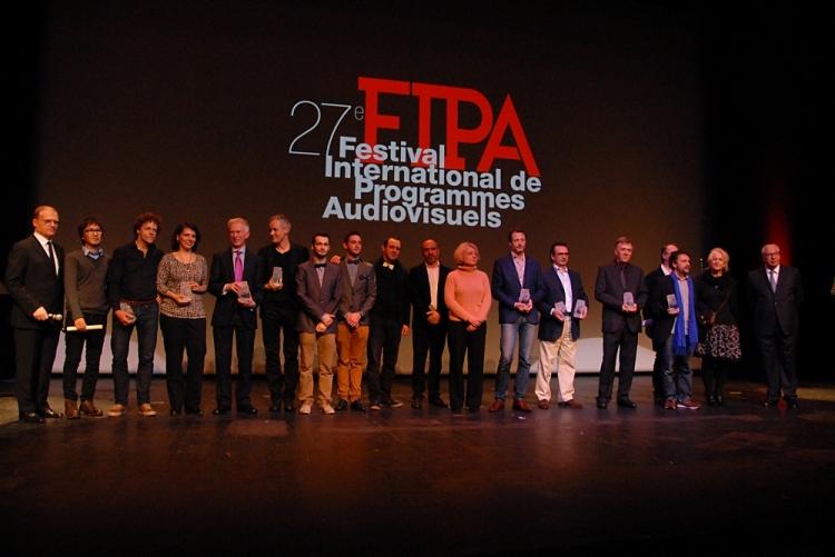 Les Lauréats du 27ème FIPA (Crédits FIPA)